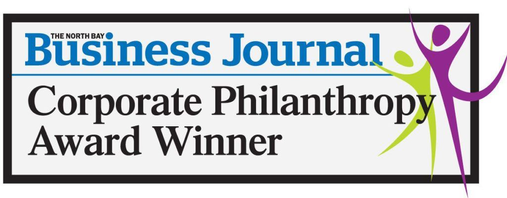 Corporate Philanthropy Award Winner badge
